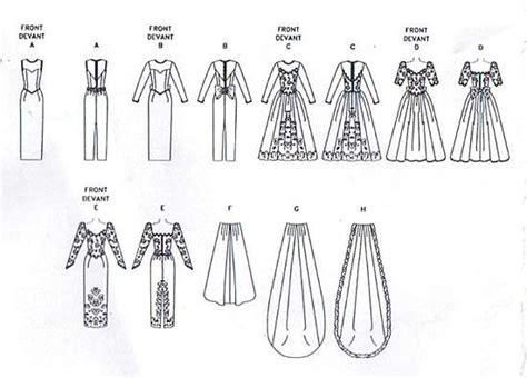 Vogue  Bridal Original Gown And Train Pattern Sz
