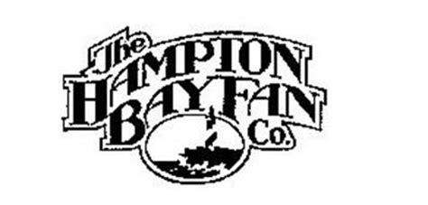 the hampton bay fan co. trademark of homer tlc, inc