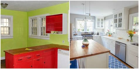 kitchen makeover ideas pictures 8 clever kitchen makeovers kitchen renovation ideas