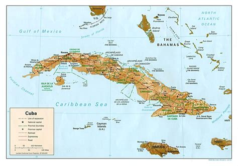 map usa and cuba nationmaster maps of cuba 26 in total