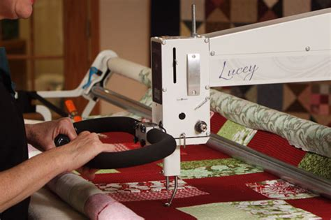 Computerized Quilting System by Apqs Longarm Quilting Machines And Computerized Quilting System
