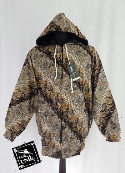 Bjk 400 Baju Pria Muslim Koko Gaul baju batik jaket pria motif mataraman jaket murah