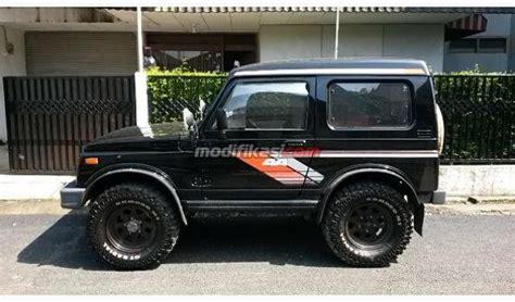 Jual Lu Sorot Jeep suzuki jimny katana 4x4 hitam 1987