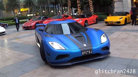 koenigsegg singapore video koenigsegg agera s in singapore gtspirit