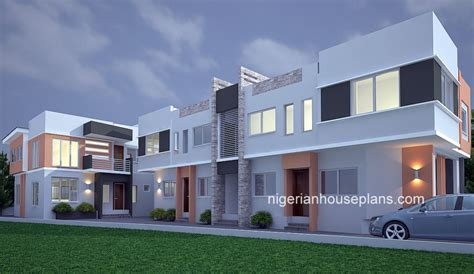 two bedroom duplex 2 bedroom block of flats archives nigerianhouseplans