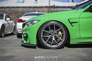 Bmw Bbs Rims Signal Green Bmw M4 With Bbs Wheels
