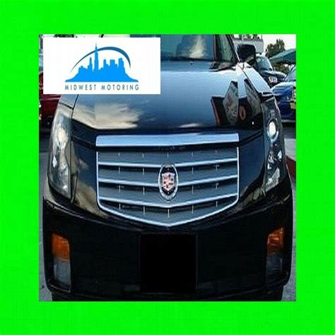 purchase 2003 2007 cadillac cts chrome trim for grill grille w 5yr warranty motorcycle in