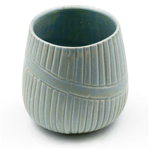 Ceramic Cup ceramic cups with no handle teal
