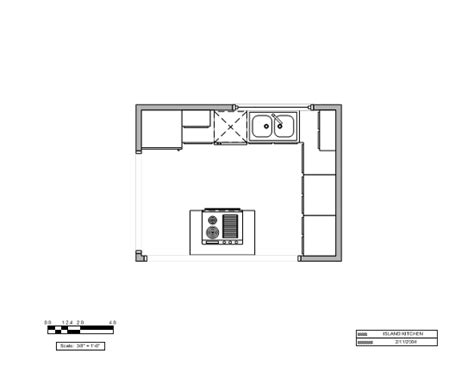 Kitchen Unit Layouts Island Kitchen Layout U S Units For Microsoft Personal
