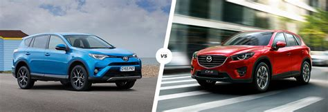 Mazda Cx 5 Vs Toyota Rav4 Toyota Rav4 Vs Mazda Cx 5 Compared Carwow