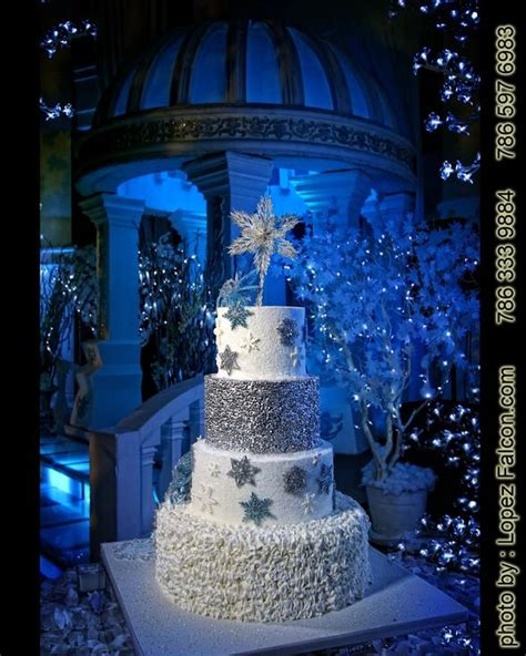 winter themed quinceanera cakes winter wonderland cake pastel cake quinceanera sweet 15