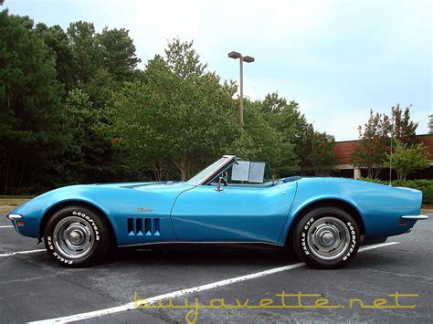 1969 corvette 427 390hp convertible for sale at buyavette