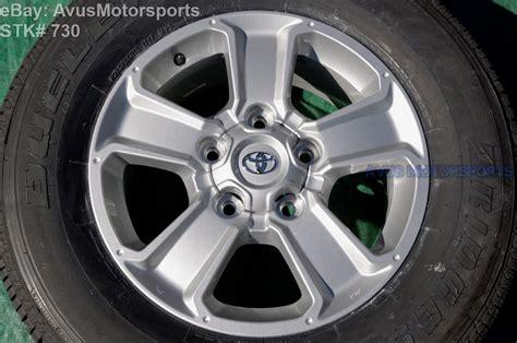 Toyota Tundra Factory Wheels New 2015 Toyota Tundra Oem 18 Quot Factory Wheels Tires
