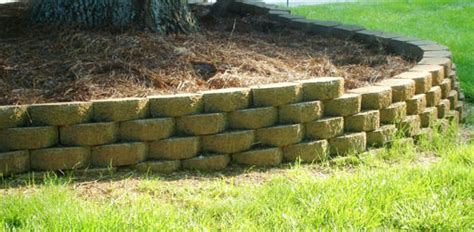 Decorative Cinder Blocks Home Depot by How To Build A Stackable Block Retaining Wall Today S