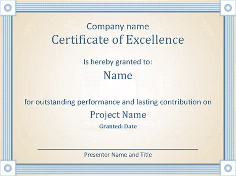 reward certificate templates reward an employee s outstanding performance with this
