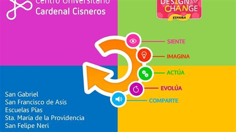 design is change design for change en colegios de alcal 225 de henares youtube