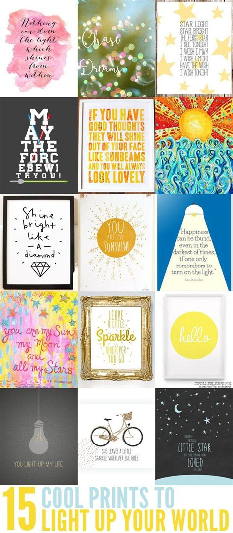 15 Cool Prints to Light Up Your World Children s, Room and Lights