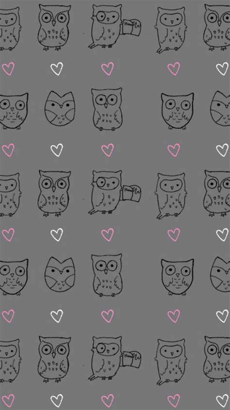 wallpaper for iphone 6 owl owl pattern wallpapers iphone 6 plus backgrounds
