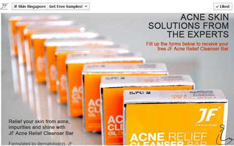 Jf Acne Protect Cleanser Bar the swanple free sle jk skin cleanser bar