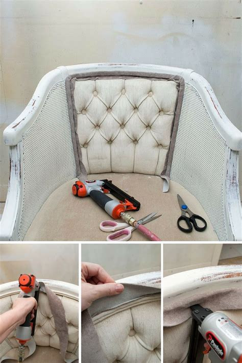 Upholstery Tutorial Chair - diy chair upholstery tutorial that staples new fabric