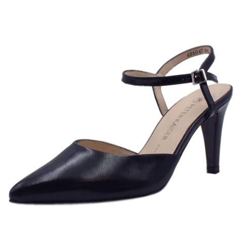 closed toe heeled sandals kaiser uk eyrin navy evening sandals