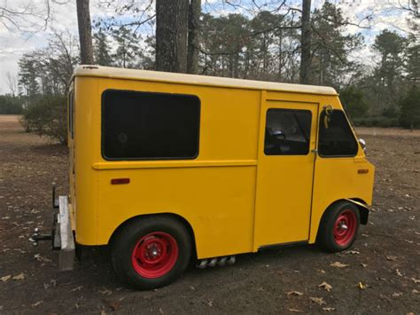 mail jeep custom 1964 custom mail jeep possible food truck for sale jeep