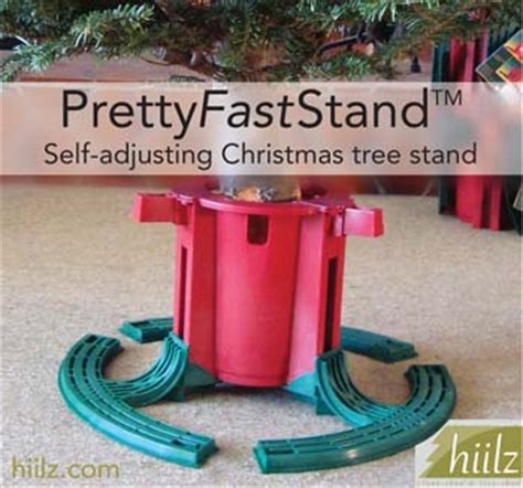 self adjusting christmas tree stands tree holder base prettyfaststand