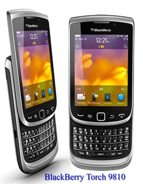 Handphone Bb blackberry torch 9810 pelangi handphone