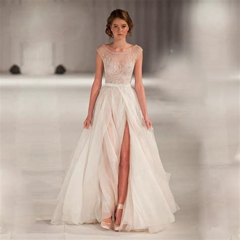 Where Can I Buy A Wedding Dress by Aliexpress Buy High End Can Be Tailored A Line