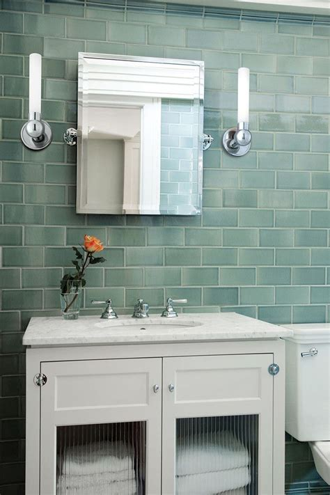 glass bathroom tile ideas best 25 glass tile bathroom ideas on blue