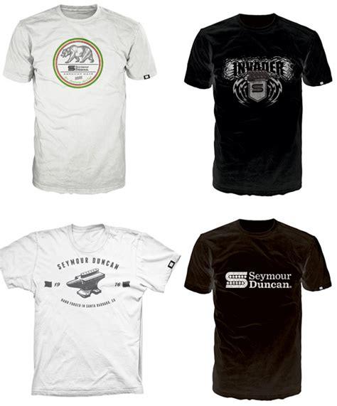 Seymour Duncan T Shirt seymour duncan launches store seymour duncan