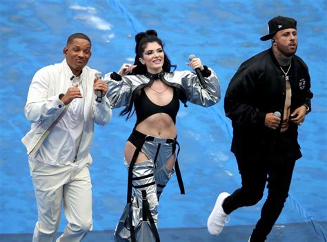 nicky jam world cup song will smith nicky jam and era istrefi perform at world cup