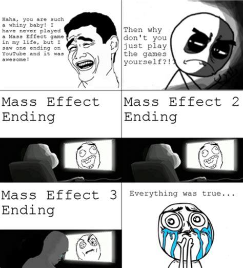 Mass Effect 3 Ending Meme - image 267763 mass effect 3 endings reception know