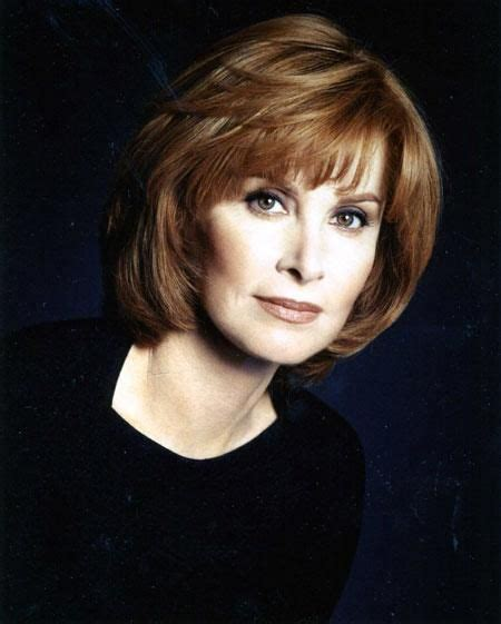 hair styles on pinterest round faces stephanie powers stefanie powers actresses pinterest stephanie powers