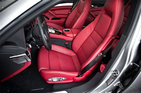 porsche panamera red interior next porsche panamera chassis to spawn new engines motor