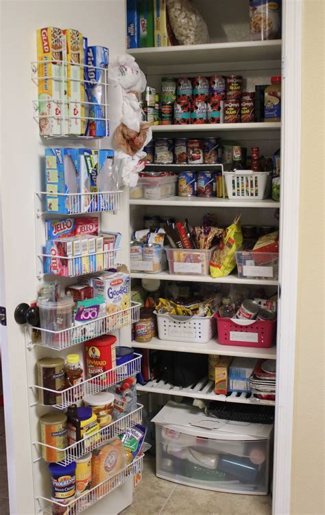 kitchen closet organization ideas pantry organization pantry challenge finale
