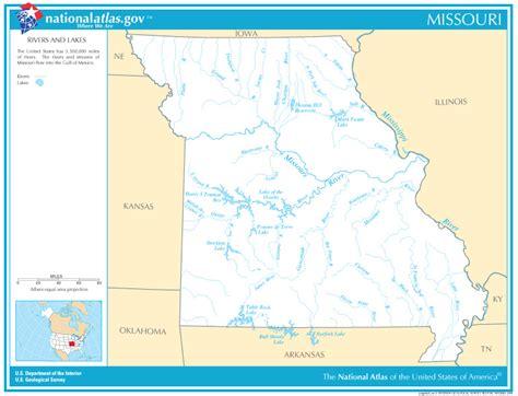 missouri map with rivers missouri state maps interactive missouri state road maps
