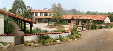 adobe house plans with courtyard adobe courtyard mediterranean exterior santa barbara by tom meaney architect aia