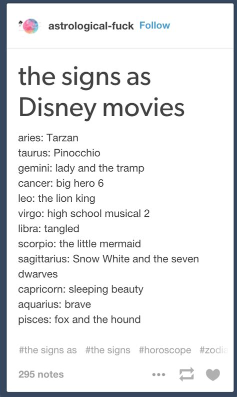 Horoscope Meme - the signs as horoscope meme dethrones disney princesses