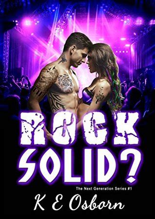 rock solid books rock solid the next generation series 1 by k e
