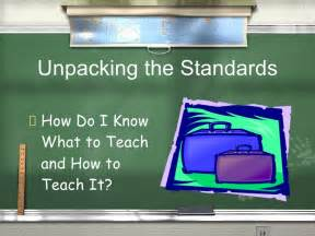 unpacking common standards template unpacking standards