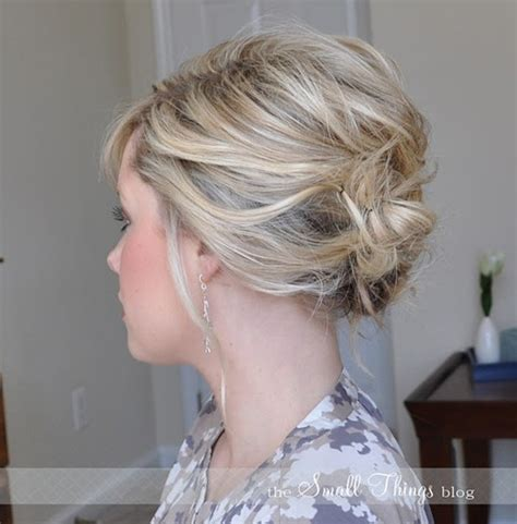 pintrest messy ypdos 10 updo hairstyles for short hair easy updos for women