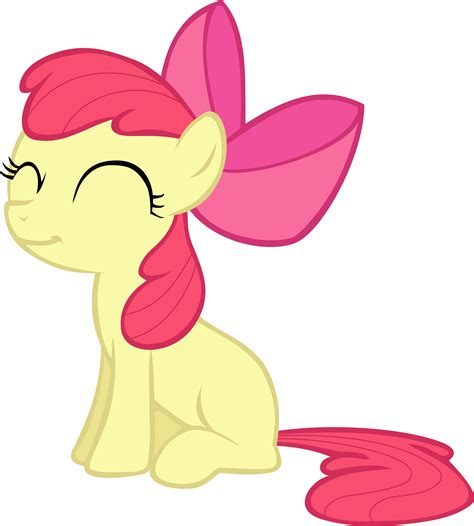 apple bloom request smiling applebloom vector by pangbot on deviantart