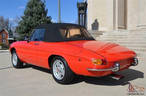 Alfa Romeo Convertible by 1969 Alfa Romeo Spider Convertible