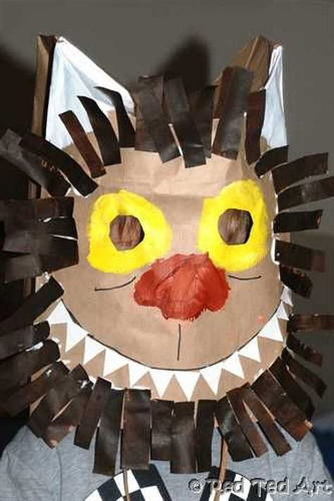 Paper Craft Mask - 20 diy mask crafts for hative