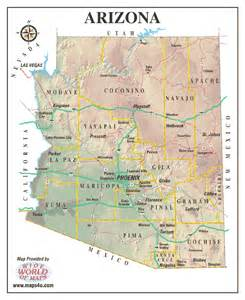 arizona geography map geography j sandoval
