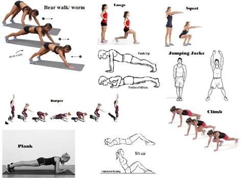 esercizi fisici in casa esercizi crossfit the crossfit diary