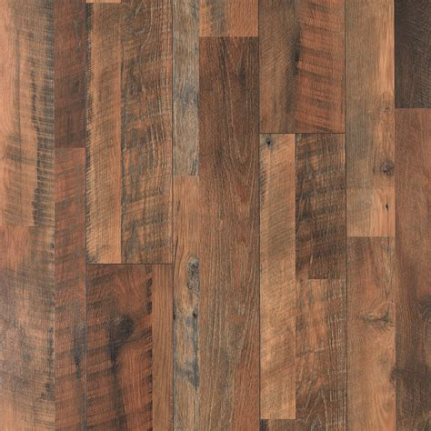 shop pergo max river road oak wood planks laminate flooring sle at lowes com