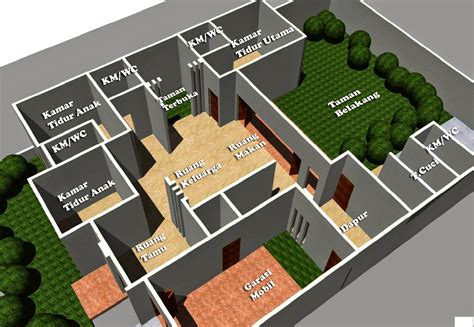desain rumah minimalis  lantai  kamar home   pinterest house design affordable