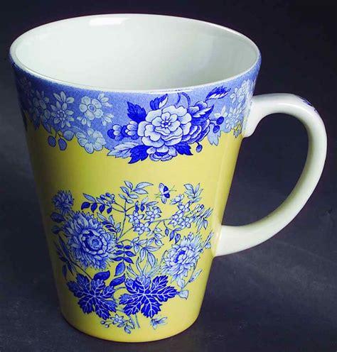 spode mugs blue room collection spode blue room garden collection yellow background mug 4739491 ebay